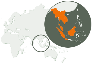 Gibbon Distribution Map