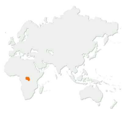 Bonobo Distribution Map